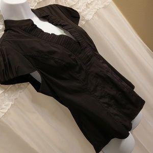 Express Design Studio Medium Black Blouse